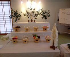 日本心霊科学協会九州和の会祖霊祭祭壇