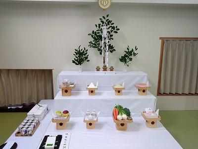 祖霊祭祭壇